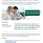 Vibro Acoustics-FREE LAY-IN Service to Eliminate Risk of Noise Problems